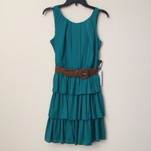 Teeze Me - Jade Ruffle Dress
